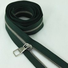 Brass No. 3 Green Zipper for Bags