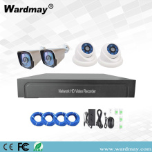 4chs 2.0MP Starlight IP Kamara POE NVR Kits