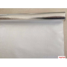 Aislamiento de fibra de vidrio con papel de aluminio, Reflectante y Silver Roofing Material