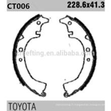 k2232 04495-14010 pour Toyota Plaquettes de frein arrière