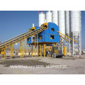 Planta mezcladora de concreto tipo estacionario HZS70