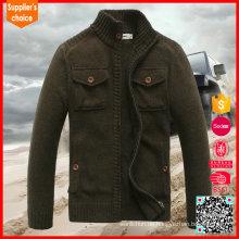Neue Art und Weise kundenspezifische Militäruniform Pullover militärische Artstrickjacken für Männer