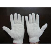 Grauer Arbeitsschutzhandschuh mit 750 Gramm 7 strickender Baumwolle