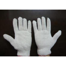 Grey 750 Grams 7 Knitting Cotton Safety Luva de Trabalho