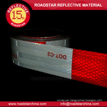 conspicuity adhesive reflective tape for vehicle