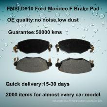 Plaquette de frein à disque avant Ford Mondeo de qualité OE D910