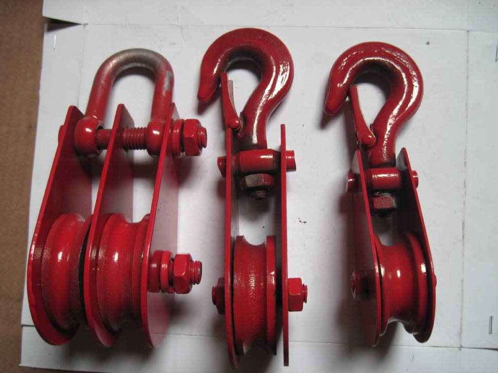 Pulley block 8ton