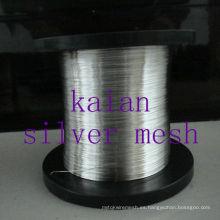 Alambre caliente de la plata esterlina de la venta para la batería / electro / experimento 30 años fábrica