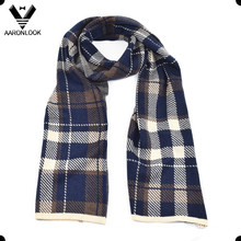 Grid Pattern Fashion Men′s Leisure Scarf
