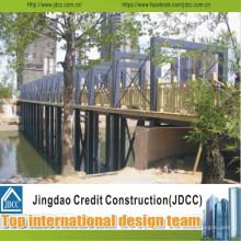 Stahlkonstruktion Brücke Abschnitt Stahl