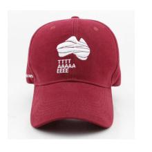 Boné de beisebol e chapéu de aba de curva de applique de qualidade superior