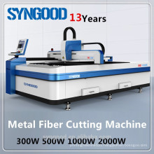 CNC Fiber Laser Metal Cutting Machine Syngood SG5050 300w