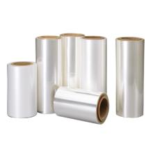 Película base de embalaje de plástico transparente flexible normal