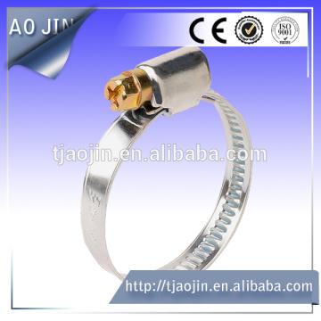 Clip de tubo chapado en zinc