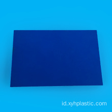 Blue PVC Sheet Single side untuk Lem