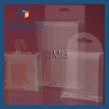 Boîte en PVC suspendue en PVC transparent en PVC (CMG-PVC-011)