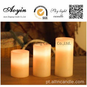 Wave Type LED Candles Rechargable LED Velas