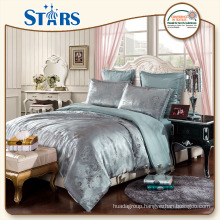 GS-JAC-07 OEM shinning yarns bedding sets wholesale for bed