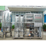 EXPERTAQUA RO Reverse Osmosis system and EDI Electro deionization purified water for food and beverage and cosmetic industry