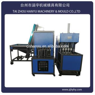 Tai Zhou 4 cavidade PET semi-automática máquina de moldagem por sopro preço com auto-carregamento