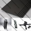 Tablero de paletas de fibra de carbono de 4,0 mm, superficie 3K