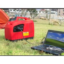 Uso en el hogar 1kw 1000W pequeños generadores portátiles de la gasolina del inversor de Digitaces del poder