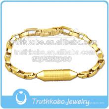Chapado en oro de la joyería del cuerpo del encanto de la pulsera de alta calidad en venta en Truthkobo