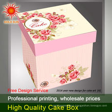 tall cake box