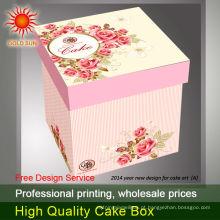 caixa de bolo alta