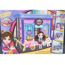 120PCS Happy Villa костюм куклы DIY Установить