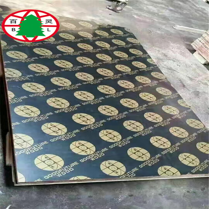 Melamine finger joint core film faced plywood