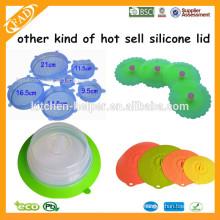 Plate topper Fabriqué en Chine usine de qualité alimentaire plaque de silicone plaque supérieure Couvercle