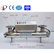 100 m3/hour flow water uv sterilizer