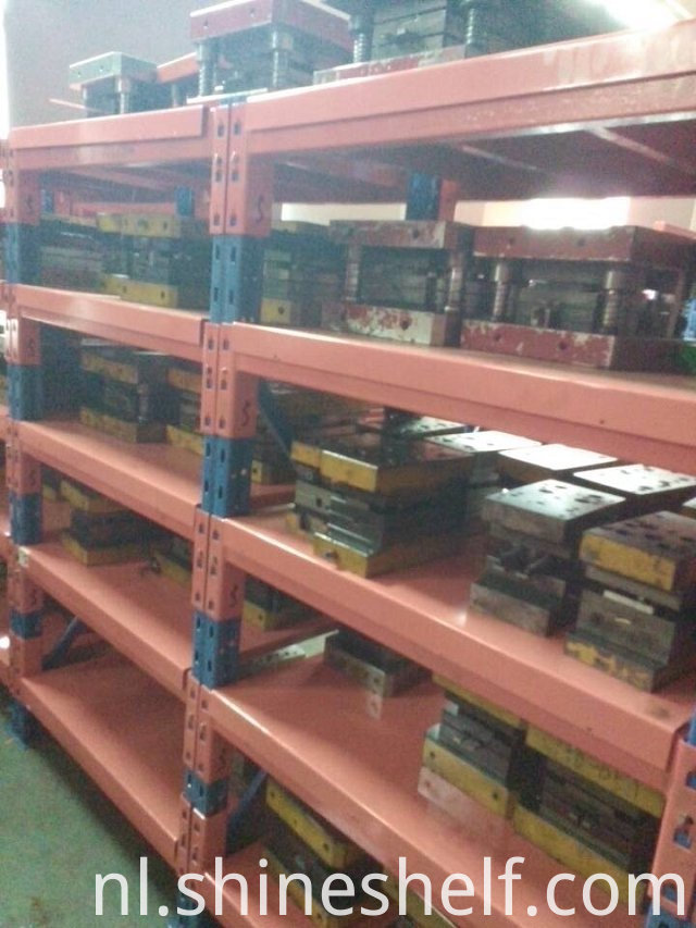 Heavy Duty Shelves with Steel Decking