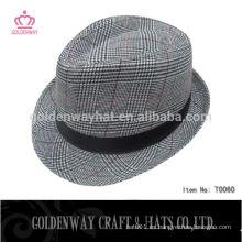 Sombrero barato hecho a mano del partido del fedora de los hombres