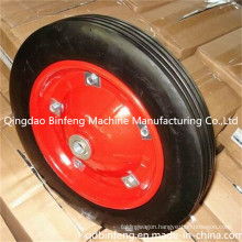 Hand Trolley Solid Rubber Wheel/Solid Wheelbarrow Wheel