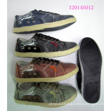 Canvas Shoes with Wattle Outsole