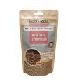 Bolsa de papel Kraft marrón de impresión personalizada Bolsa de pie