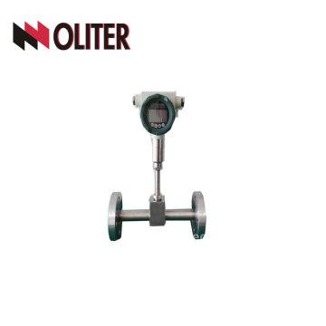 natural co2 gas air flow meter analog vortex hydrogen flowmeter with LED