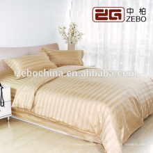 Luxus Verschiedene Farbe Verfügbar Streifen Stoff Großhandel Hotel Schlafzimmer Set