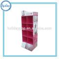 Estante de lavandería de la ropa de la cartulina de la exhibición de la tienda del paño de la alta calidad