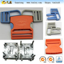 pa plastic baby seat belt buckle injection mould