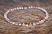 Silver Natural Freshwater Cultured Pearl Jewelry Necklace