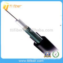 Лучшая цена 12 основных одномодовых GYXTW Бронированный оптоволоконный кабель Сделано в Китае