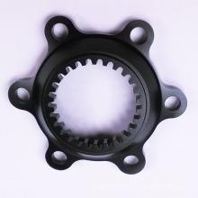 Componentes de bicicleta hechos a medida con torneado y fresado