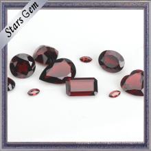 Pedra preciosa semi preciosa natural da vária forma e do tamanho