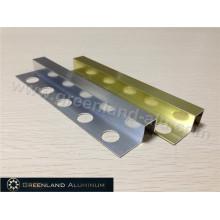 Alumínio Square Schluter Strip12mm Altura