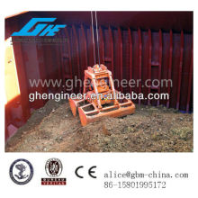 25T radio remote control clamshell grab bucket for ship crane for sale