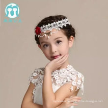 europäischen Stil Kopfschmuck für Kopf tragen Halskette Spitze appliqued Blume Haare Zubehör