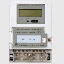 Compteur de puissance intelligent multi-taux de GSM de type électronique monophasé